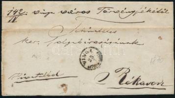 1870 Ex offo VINGA - RÉKAS
