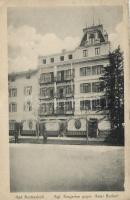 Bad Reichenhall, Kurgarten, Hotel Burkert