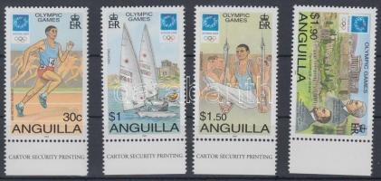 2004 Olimpia Athén ívszéli sor Mi 1150-1153