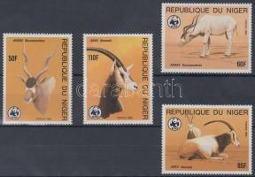 1985 WWF: Antilopok sor Mi 941-944