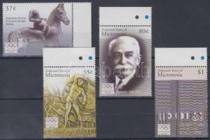 2004 Olimpia Athén ívszéli sor Mi 1546-1549