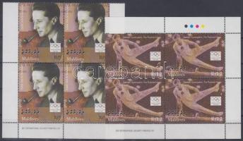 2004 Olimpia Athén ívsarki négyestömb sor Mi 4394-4397