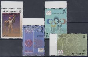 2004 Olimpia Athén ívszéli sor Mi 1230-1233