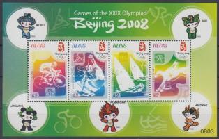 2008 Olimpia Peking kisív Mi 2265-2268