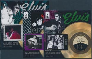 2012 Elvis Presley klasszikus slágerek 3 klf blokk