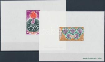 1971 Müncheni olimpia Mi 312-313 de lux blokkok