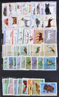 Főleg postatiszta külfüldi Állat motívum gyűjtemény, sorok, darabok az egész világból / Fauna, mostly mint never hinged sets and values from various countries (Mi EUR 2.200.-)
