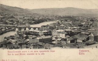 Tbilisi, Tiflis; Michel bridge