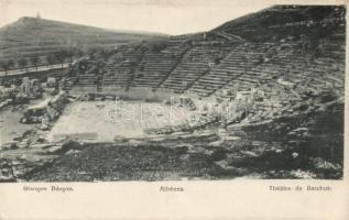 Athens, Theatre of Bacchus (wet damage)