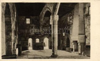 Rhodes, castle of the Knights Hospitallers, refectory, interior
