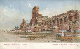 Athens, Odeon of Herodes Atticus