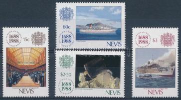 1988 300 éves a Lloyd sor Mi 501-504