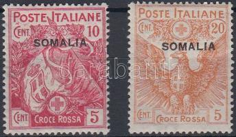 1916 Vöröskereszt Mi 20 + 22