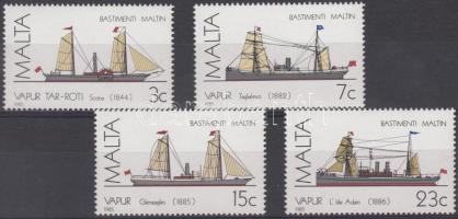 1985 Hajók sor Mi 739-742