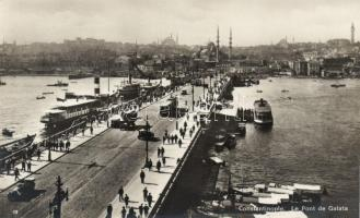 Constantinople, Galata bridge