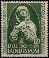 1952 100 éves a Nürnbergi Nemzeti Múzeum Mi 151