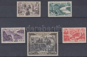 1949 Városképek sor Mi 861-865