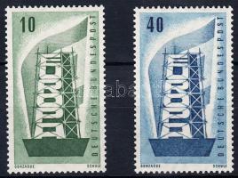 1956 Európa sor Mi 241-242