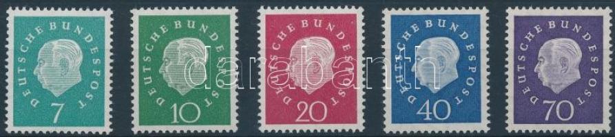 1959 Forgalmi sor Mi 302-306
