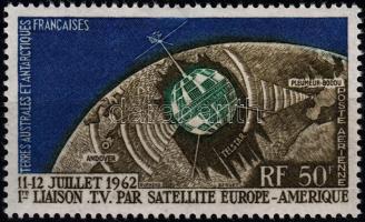 1962 Űrkutatás: Telstar 1 Mi 27