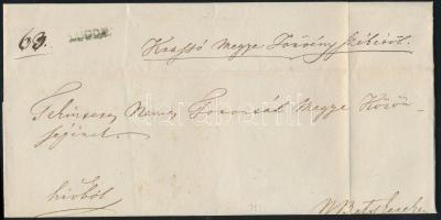 1846 Ex offo zöldes / greenish LUGOS - N.Betskerek