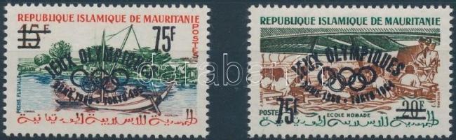 1962 Római olimpia sor felülnyomással Mi I I-II I