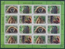 2008 WWF: Gibbon teljes ív Mi 2062-2065 A