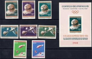 Space Travel: Tokyo Olympics set + block, Űrutazás: Tokiói olimpia sor + blokk