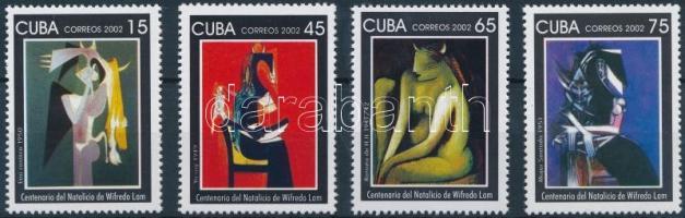 2002 Wilfredo Lam sor Mi 4481-4484