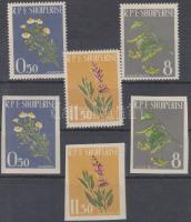 Herbs, 2 set, Gyógynövények fogazott és vágott sor, Heilpflanzen, 2 Sätze
