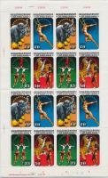 1985 Cirkuszművészet kisív Mi 2983-2986