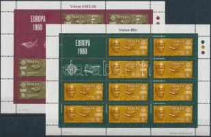 1980 Europa CEPT kisív sor Mi 615-616