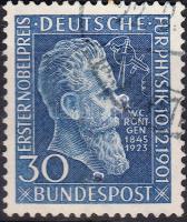 1951 50 éve kapott Nobel-díjat Wilhelm Röntgen Mi 147