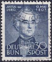 1953 Justus von Liebig születésének 150. évfordulója Mi 166