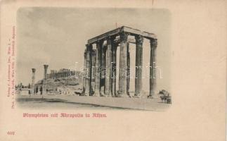 Athens, Temple of Olympian Zeus, Acropolis