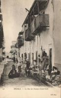 Biskra, La Rue des Femmes Ouled-Nails