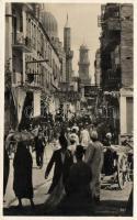 Tunis, bazaar street