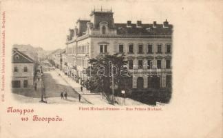 Belgrade, Rue Prince Michael