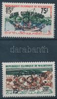 1962 Nyári olimpia sor nagy felülnyomással Mi I-II II