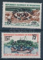 1962 Nyári olimpia sor kis felülnyomással Mi I-II I