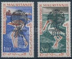 1962 Küzdelem a malária ellen sor I tip. felülnyomással Mi VII-VIII I
