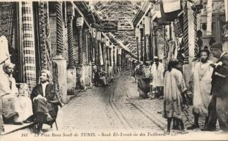 Tunis, Souk El-Trouk ou des Tailleurs