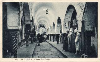 Tunis, Le Souk des Etoffes