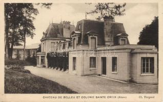 Sainte-Croix, Chateau de Belleu / castle