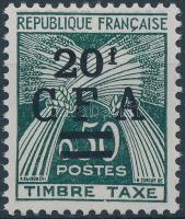 Postage due with overprint Portó felülnyomással