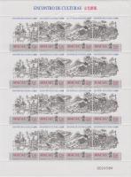 1999 Kultúrák találkozása teljes ív Mi 1052-1055