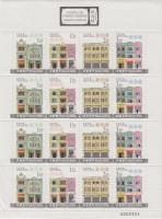 2000 Kulturális műemlékek teljes ív Mi 1072-1075