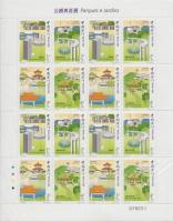 2001 Parkok és kertek teljes ív Mi 1173-1176