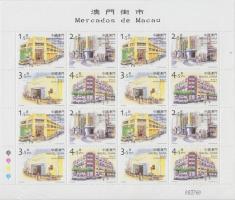2001 Piacok teljes ív Mi 1163-1166