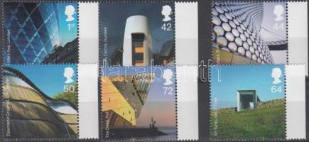 2006 Modern építészet ívszéli sor Mi 2414-2419